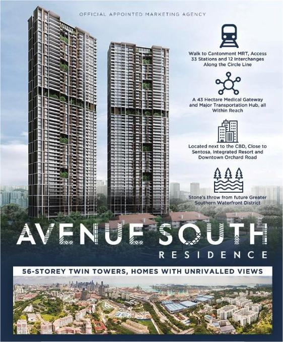 Avenue South Residences balance units